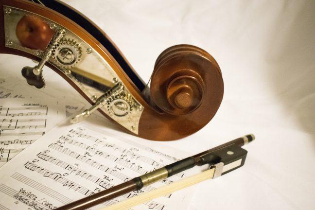 arc art bass bowed string instrument 210854